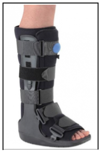 Cam Walker Boot for ankle fractures