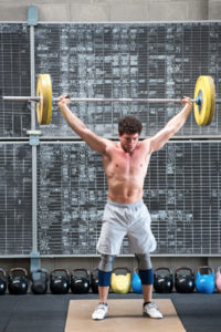 Weightlifter's Shoulder Pain and Injury